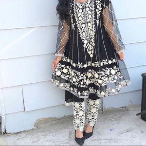 Black Pakistani Dress